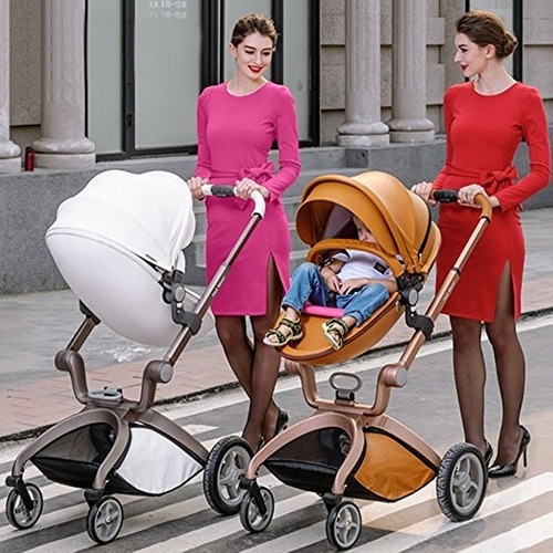 carreola bebe europea hot mom de piel travel system 2 in 1