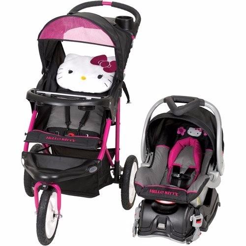 Carreola Carriola Con Portabebe Baby Trend Hello Kitty