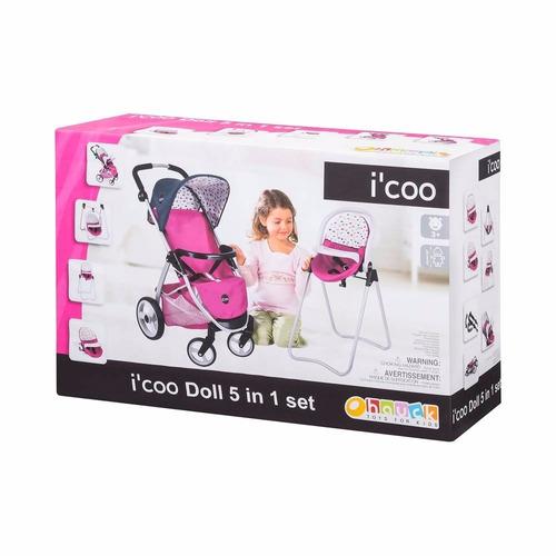 carreola carriola muñecas niñas nenucos bebes carreola