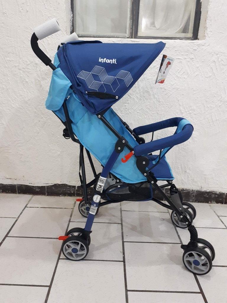 17583e07f Carreola De Baston Infanti Tipo Tijera Skit Azul - $ 930.00 en ...