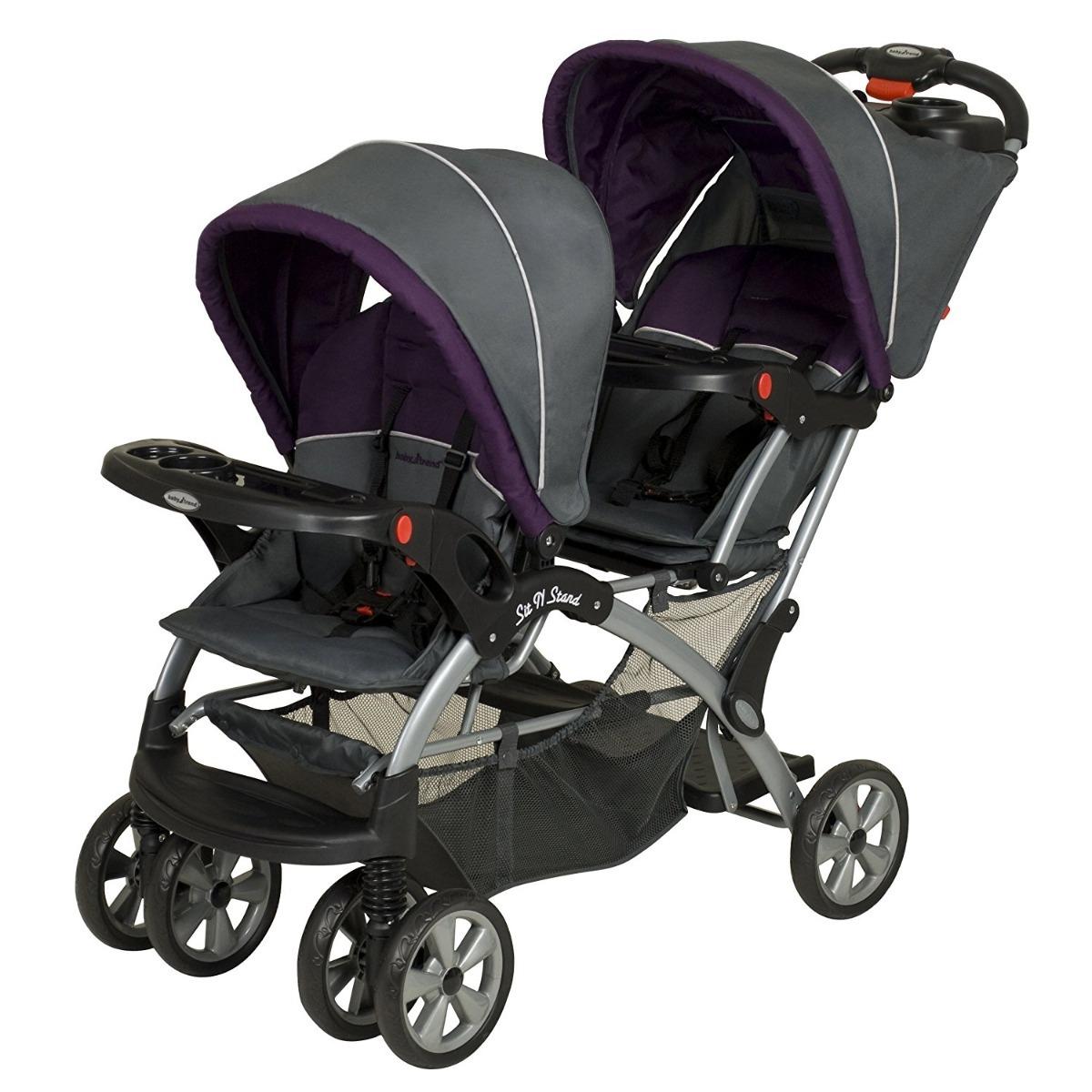 Carreola Doble Baby Trend Ideal Para Gemelos Nueva