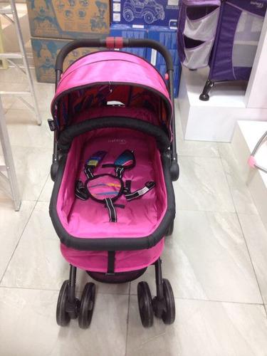 carreola infanti deluxe rosa 360°