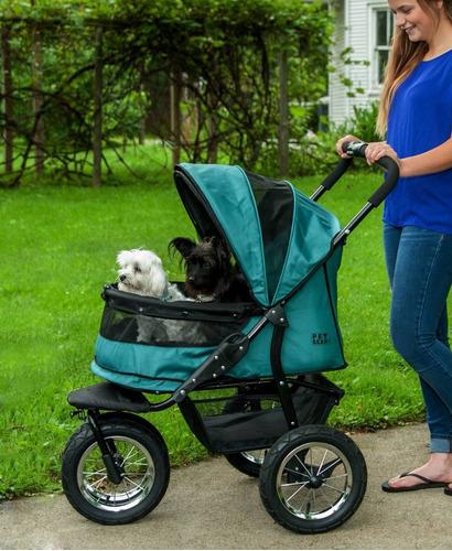 carreola transportadora verde para perros gatos mascotas