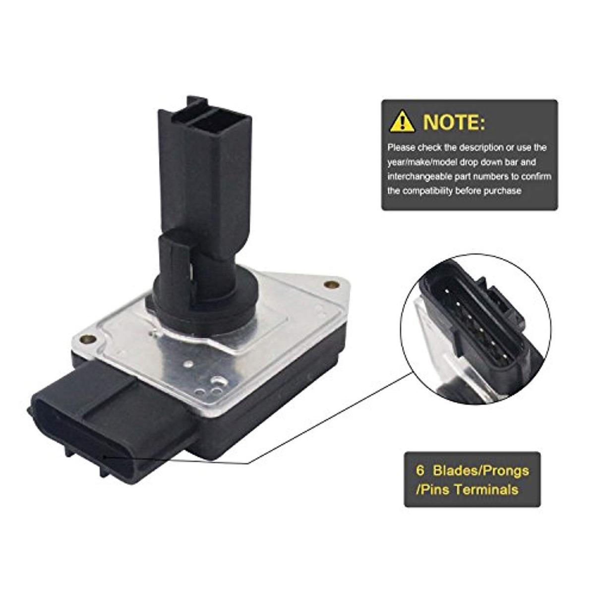 Mass Air Flow Meter Sensor Air Flowmeter for FORD XF2F12B579BA 74-50011