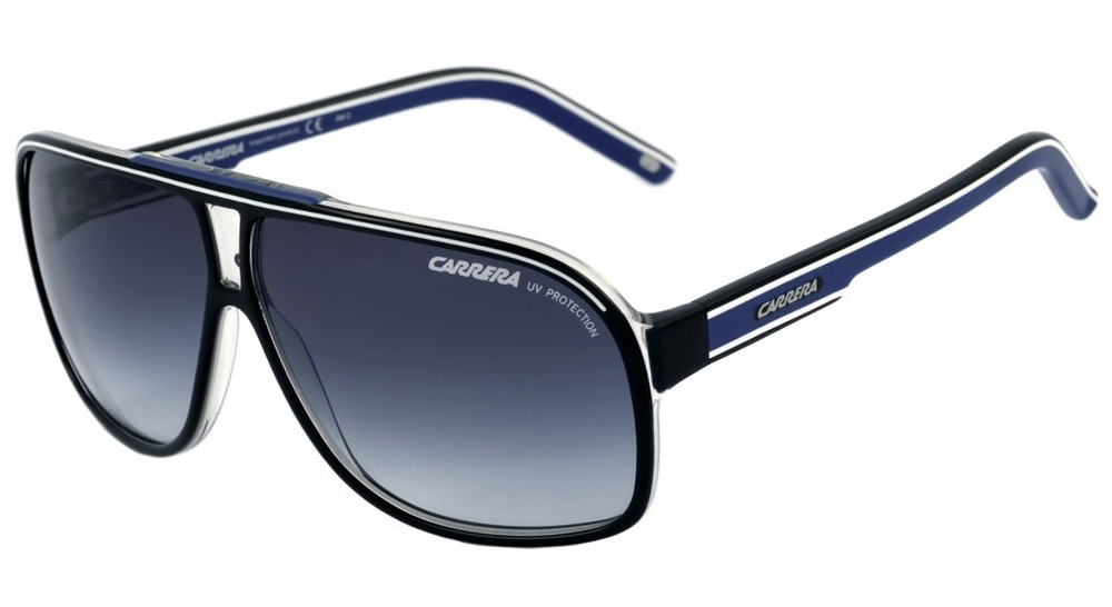 5b5f9b596e6f2 carrera grand prix 2 - óculos de sol s t5c 08 preto e azul . Carregando zoom .