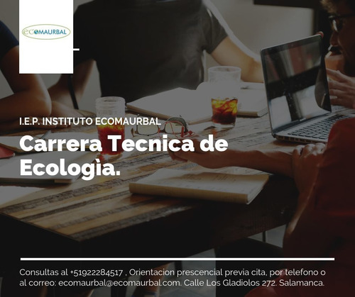 carrera tecnica de ecologia y nutricion.