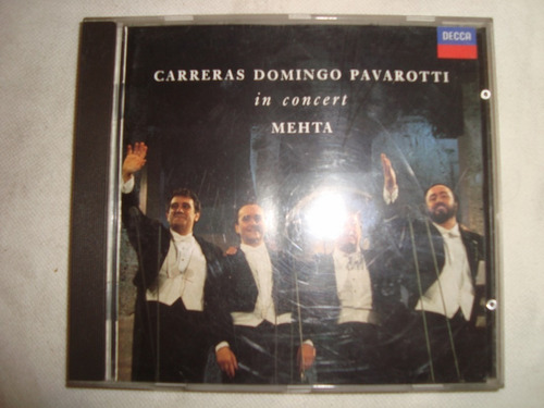 carreras domingo pavarotti in concert audio cd en caballito