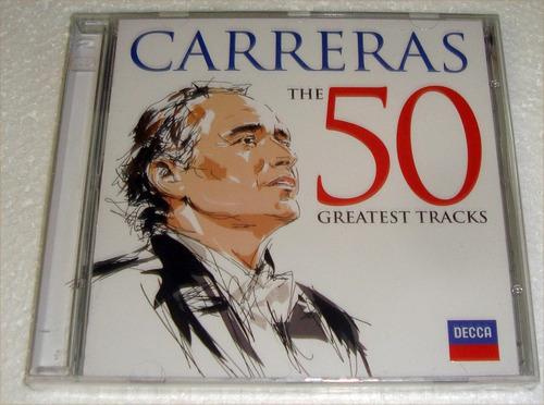 carreras the 50 greatest tracks cd doble sellado