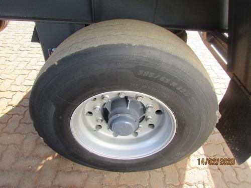 carreta 2 eixos vanderleia baú sider 12,20m - c/ pneus