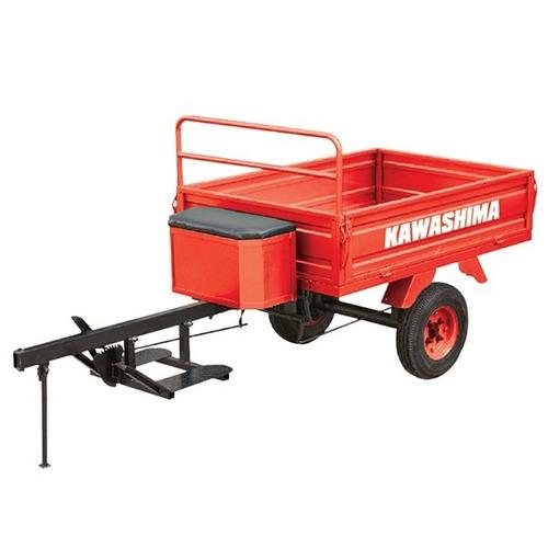 carreta agrícola para motocultivador micro trator tratorito