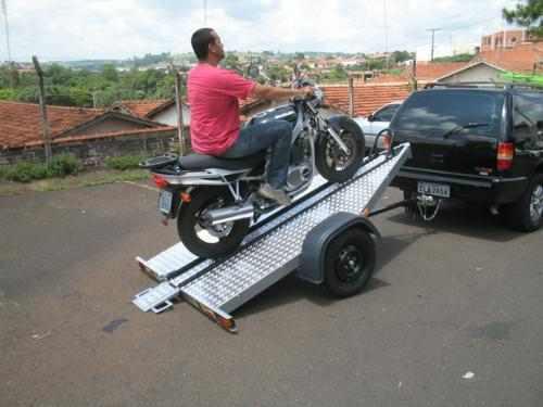 carreta basculante para transp de moto bravo chassi 02