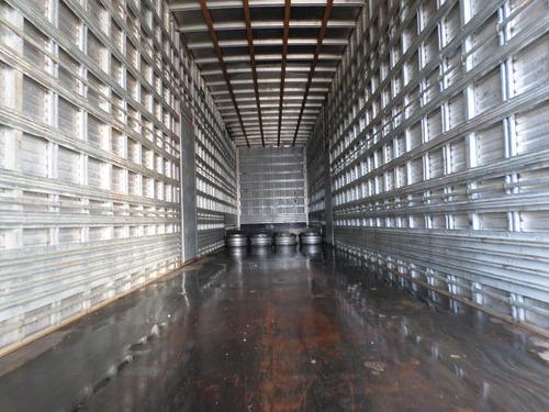 carreta bau 3 eixos rebaixada  facchini ano 2014 15,30