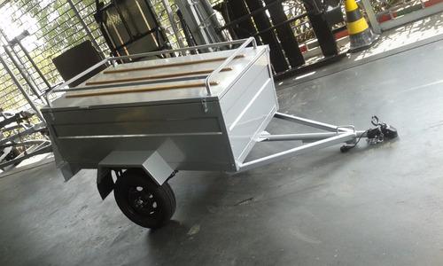 carreta baú - carretinha baú 1.50 x 1.10 x 0.50 0km