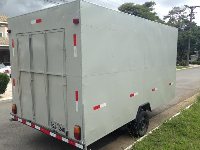Carretinha Bau Food Truck