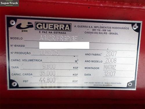 carreta baú guerra 3 eixos reta 2008 s/pneus