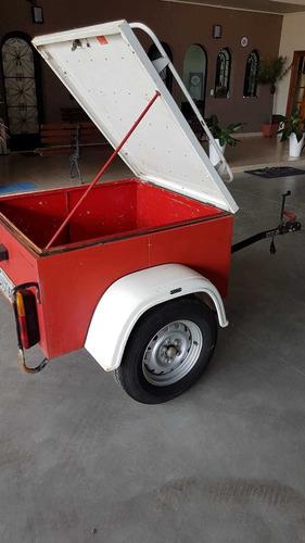 carreta baú kg 1991 - itu trailer - motor home - y@w2