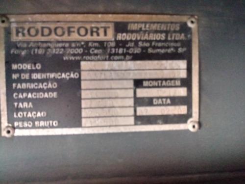 carreta baú rodofort 2008 13.50 mts