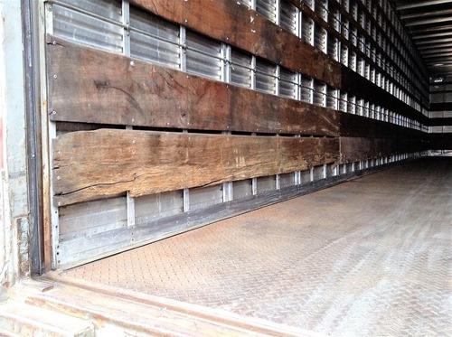 carreta baú seco randon 15,40 m. 2008 c/ pneus fotos parte 1