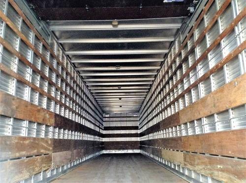 carreta baú seco randon 15,40 m. 2008 s/ pneus fotos parte 1