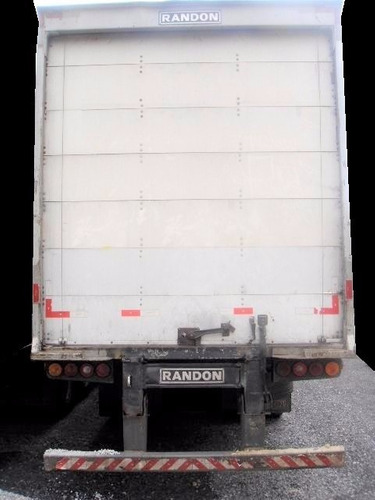 carreta baú seco randon 30 pallets 2008 sem pneus