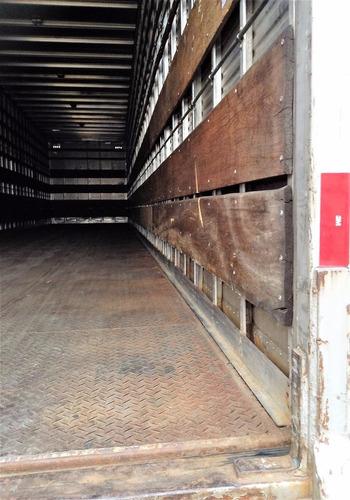 carreta baú seco randon 30 pl. 2008 c/ pneus fotos parte 2