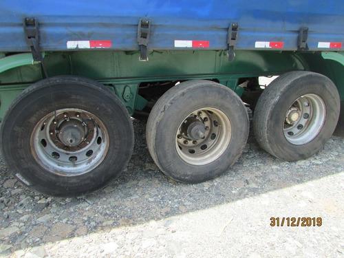 carreta baú sider ls 28 paletes - roda disco - s/ pneus