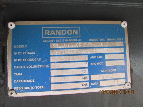 carreta bitrem graneleiro randon 7,10m 2003