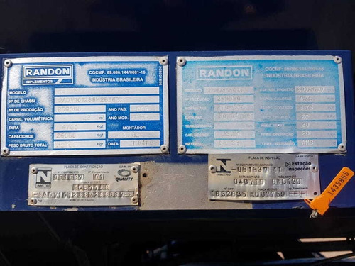 carreta bitrem tanque 2008 - 46.000l  bitanque randon