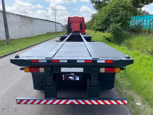 carreta bug porta container 8 pinos ano 2010 com plataforma