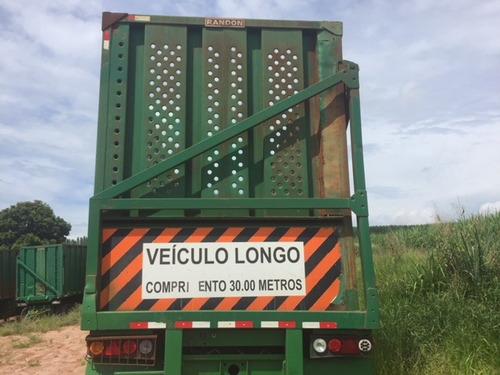 carreta cana canavieira 4 eixos tombo direito r$ 65.000.