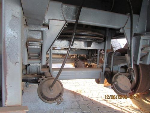 carreta carga seca guerra c/ pneus 4x2 12,5m