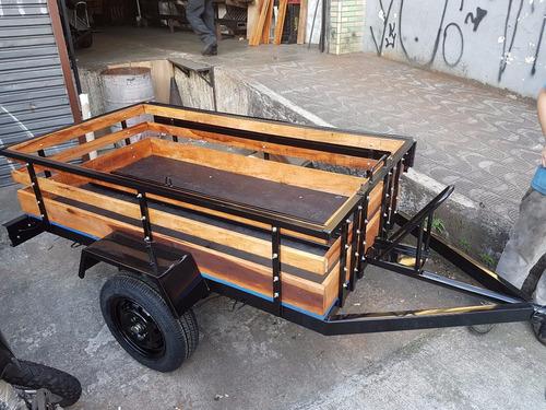 carreta carretinha carga moto 2,00x1,10 r$2750,00 0km 12x