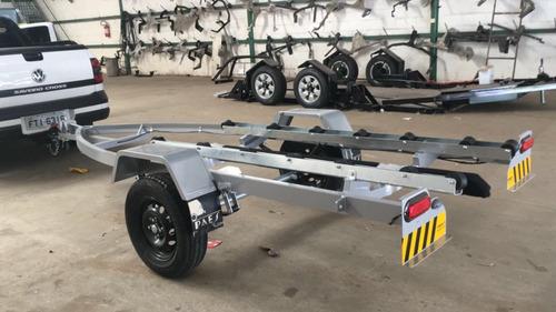 carreta de alumínio para jet ski - carretinha para jet ski