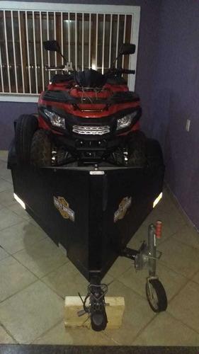 carreta de luxe hd  motos e quadriciculo 200cc