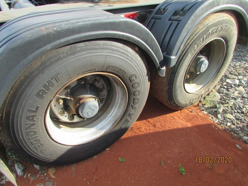 carreta dolly 2 eixos - com 5ª roda