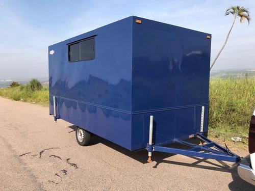 carreta fechada ano 2005 tipo trailer vazio- y@w2