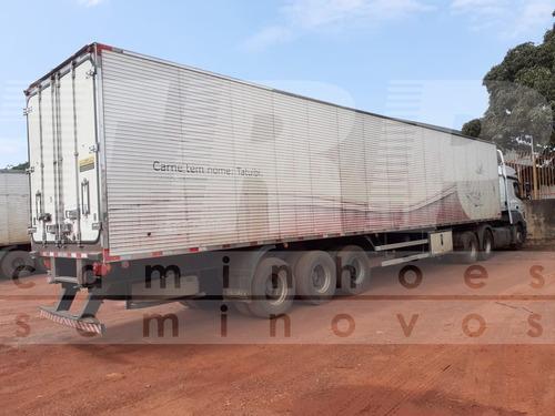carreta frigorifica 2013 com gancheira - 28 paletes