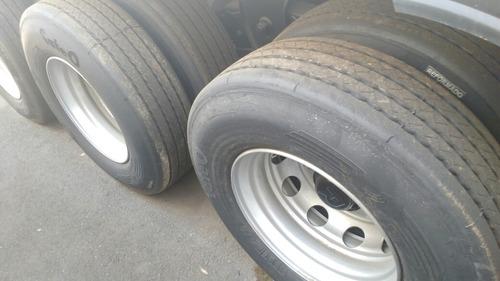 carreta grade alta rodotec e eixos c pneus 2017okm