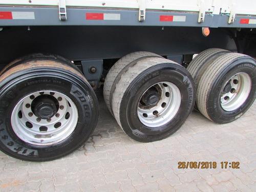 carreta graneleira  ls c/ pneus  roda a disco