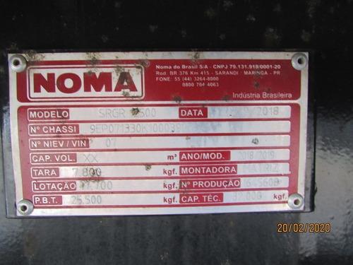 carreta graneleira noma 2019 ls 12,5m roda a disco
