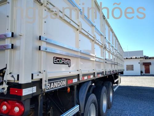 carreta graneleira randon 2020 0km ls vermelha graneleiro