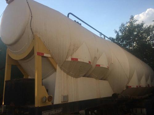 carreta graneleira silo de cimento como 35met metalidi 2011