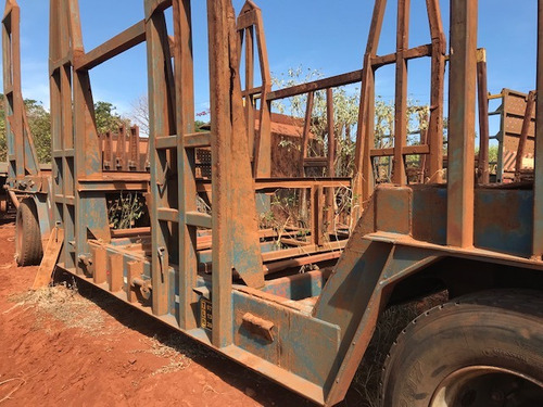 carreta julieta cana transporte de madeira ano 2007.