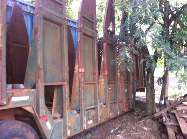 carreta julieta canavieira  2009 sucata s/ doc.12xr$580,00
