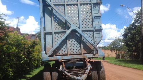 carreta julieta de cana chassis reto com caixote 1994 20.000