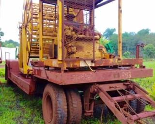 carreta julieta hidro roll irrigacao motor mwm autovia