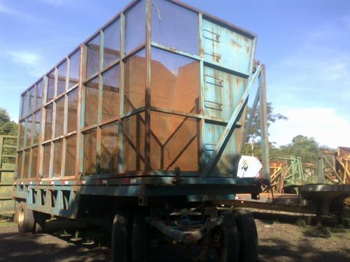 carreta julieta transbordo ano 2008 com 3 caixas r$ 45.000.
