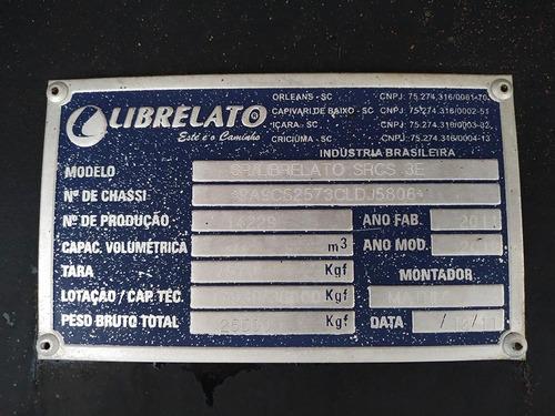 carreta librelato 2012 graneleira 3 eixos - sb veiculos