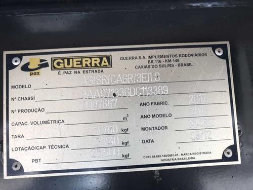 carreta ls guerra graneleira 2013 12,40 metros