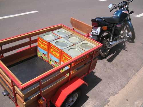 carreta motos carretas